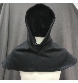 Cloak and Dagger Creations H243 - Hood in Grey 100% Wool