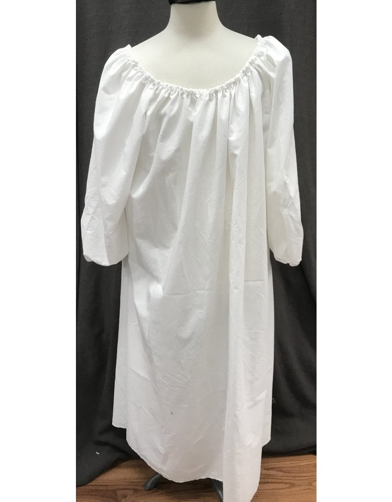 Cloak and Dagger Creations G1098 - Long White Cotton Chemise