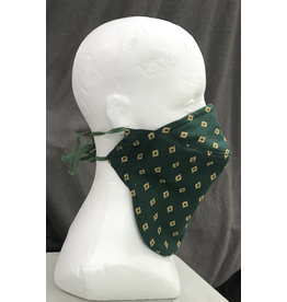 Cloak and Dagger Creations Bearded Face Mask -  Green Diamond or Request