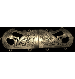 Cloak and Dagger Creations Viking Sea Beast Clasp - Bronze Tone Plated