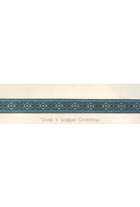 Cloak and Dagger Creations Square Diamonds Trim, Blue/Black