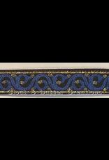Cloak and Dagger Creations Vine & Dot Trim, Blue, Narrow