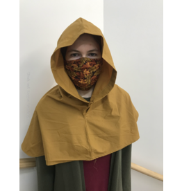 Cloak and Dagger Creations H231 - Hood in Golden Brown, Water Resistant, Lightweight