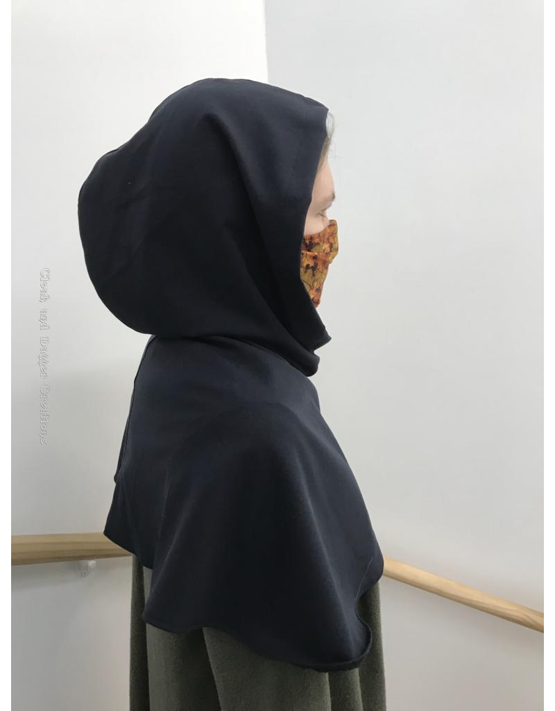 Cloak and Dagger Creations H233 - Hood in Prussian Blue, Lightweight
