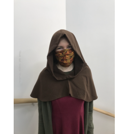 Cloak and Dagger Creations H234 - Brown Hooded Cowl