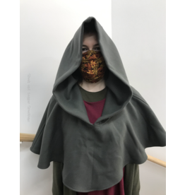 Cloak and Dagger Creations H235 - Wide Neck Battleship Grey Hooded Cowl