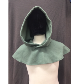Cloak and Dagger Creations H254 - Hood in Seafoam Green Wool Blend