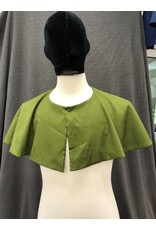 Cloak and Dagger Creations 4241 - Small Reversible Easy Care Collarless Apple Green 7/8'' Short Cloak