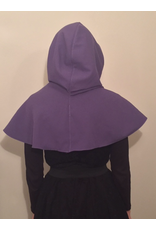Cloak and Dagger Creations H266- Hood in Purple, Mediumweight, Easy Care