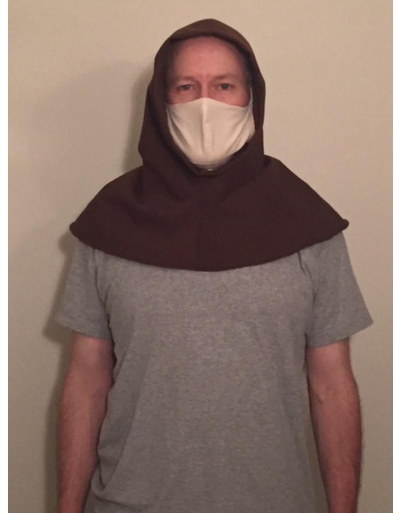 Cloak and Dagger Creations H264- Hood in Chocolate Brown, Mediumweight