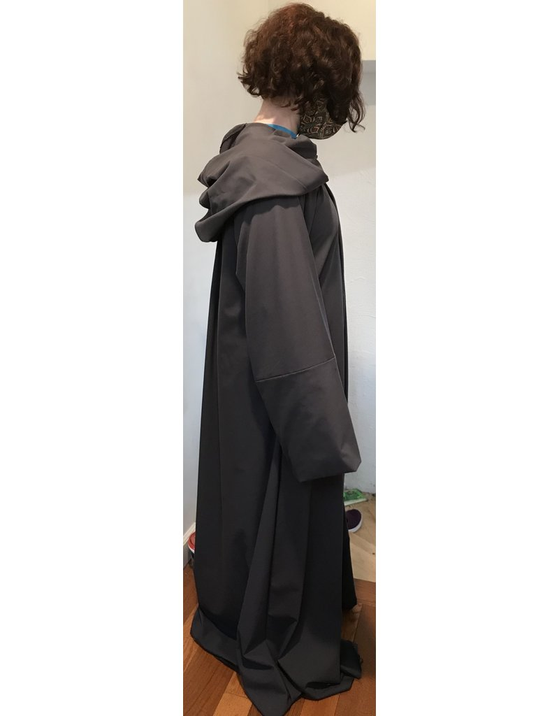 Cloak and Dagger Creations R480 - Easy Care XL Cool Grey Traveler's Robe w/Pockets