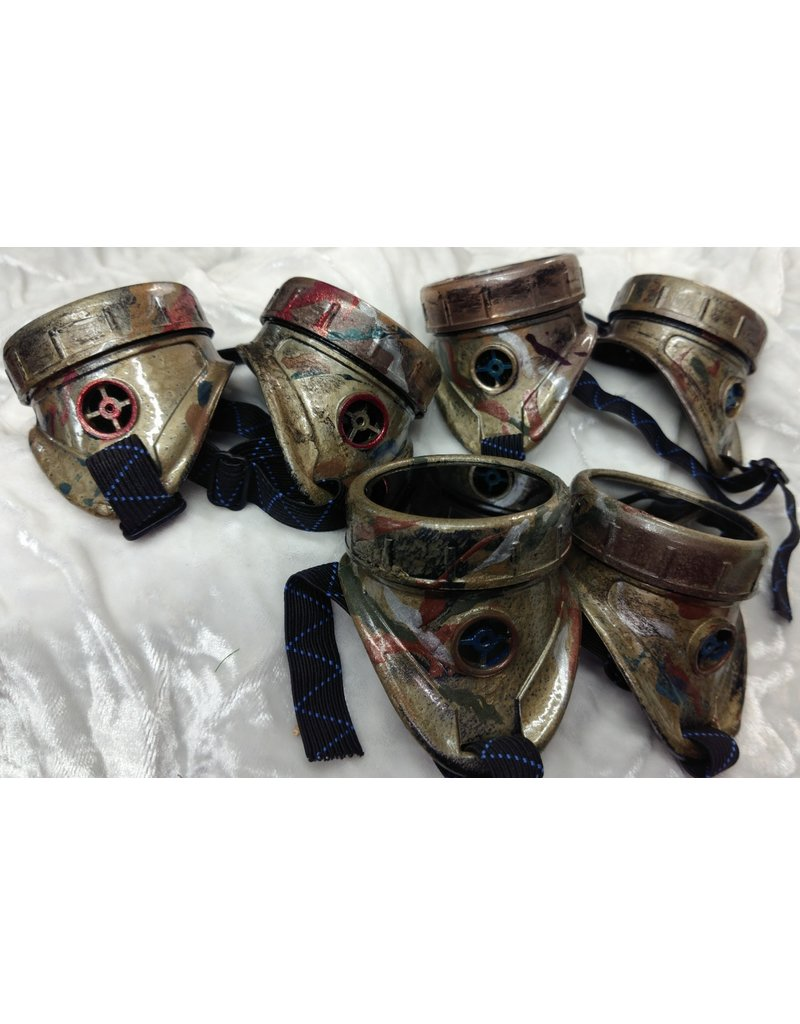 Cloak and Dagger Creations Steampunk Painted Goggled - Distressed Finish