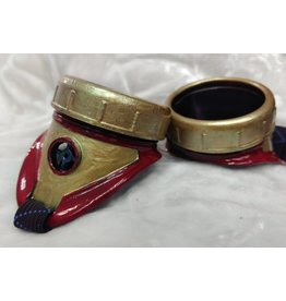 Cloak and Dagger Creations Painted Goggles- Iron Man colors