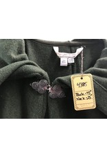 Cloak and Dagger Creations 4385 - Washable Moss Green 100% Wool Full Circle Cloak