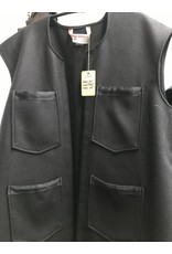 Cloak and Dagger Creations J710 - Black Woolen Vest w/Pockets