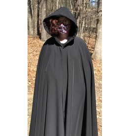 Cloak and Dagger Creations 4390 - Black PowerShield Full Circle Cloak, High Loft Interior, w/o Clasp