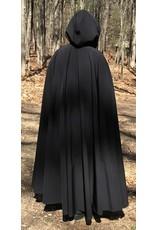 Cloak and Dagger Creations 4390 - Black PowerShield Full Circle Cloak, High Loft Interior, w/o Clasp