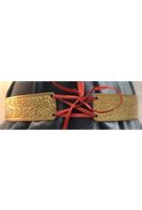 Cloak and Dagger Creations Wide Oak & Acorn Circlet -Raw Jewelers Brass