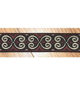Cloak and Dagger Creations Pictish Double Spirals - Tan & Red