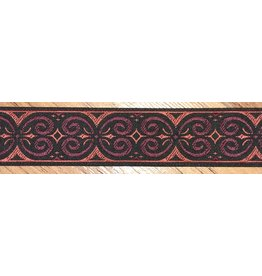 Cloak and Dagger Creations Pictish Double Sprials - Red/Wine