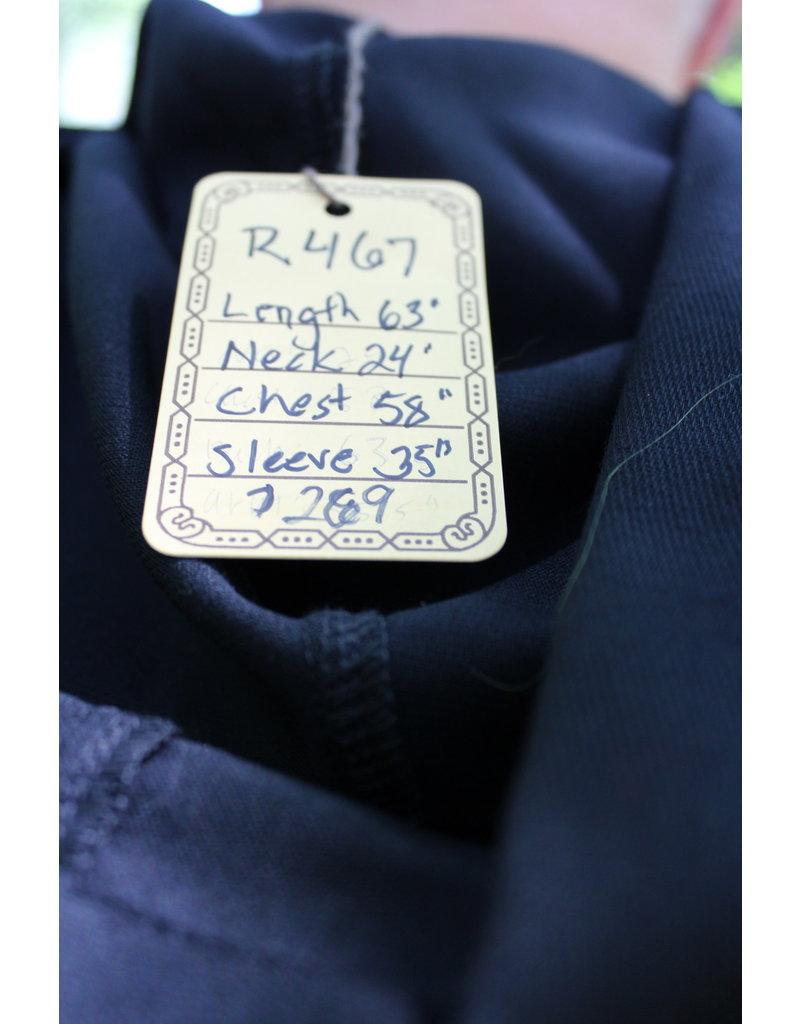Cloak and Dagger Creations R467 - Black Wool Ritual Robe