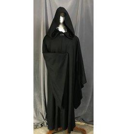 Cloak and Dagger Creations R473 - Black Wool Emperor Palpatine Cloak