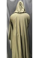 Cloak and Dagger Creations R469 -Heathered Seagrass Green Silken Wool Jedi Robe