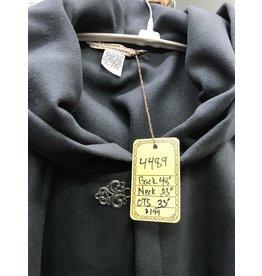 Cloak and Dagger Creations 4489 - Grey Faux Wool Ruana Cloak, Washable