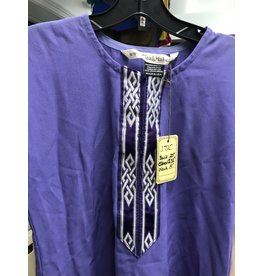 Cloak and Dagger Creations J720 -  Washable Purple Youth Tunic with Trim