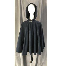 Cloak and Dagger Creations 4461 - Small Washable Fleece Deep Blue Fleece Cloak