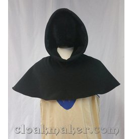 H130 -Black WindPro Fleece Hooded Cowl