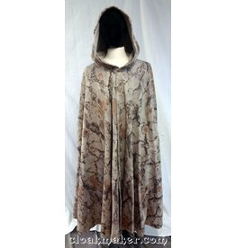Cloak and Dagger Creations 3710 - Sandy Rock Camo Fleece Full Circle Cloak