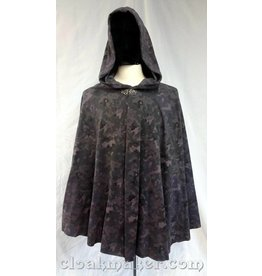 3702 - Grey Toned Camo Full Circle Cloak