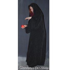 R357 - Dark Grey Polyester Twill Sith or Holocaust Robe