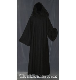 R360 - Black Wool Sith or Holocaust Robe