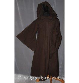 R412 - Dark Brown Cotton Anakin Episode III Jedi Robe
