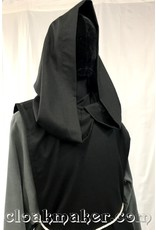 Cloak and Dagger Creations R420 - Black Wool Tabard with Pointy Hood