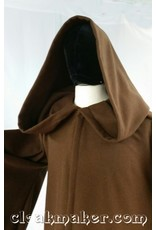 Cloak and Dagger Creations R425 - Brown Wool Jedi or Traveler Robe