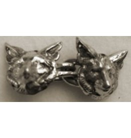 Cloak and Dagger Creations Fox Hook & Eye Cloak Clasp - Silver Tone Plated