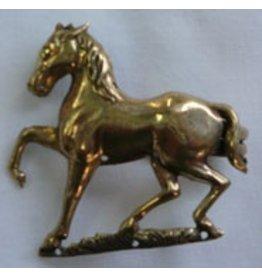 Horse, Prancing Cloak Clasp - Jewelers Bronze