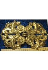 Cloak and Dagger Creations Leaf and Scroll Cloak Clasp - Jewelers Bronze
