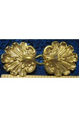 Cloak and Dagger Creations Venus Oyster Classic Cloak Clasp - Jewlers Bronze