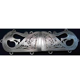 Viking Sea Beast Cloak Clasp - Pewter