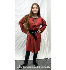Cloak and Dagger Creations J581 - Coral Polyester Viking Tunic - Youth