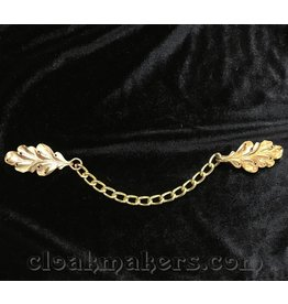 Cloak and Dagger Creations Oak - Simple with Chain - Jewelers Bronze