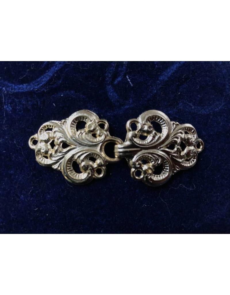 Cloak and Dagger Creations Vale Cloak Clasp - Gold Tone Plated