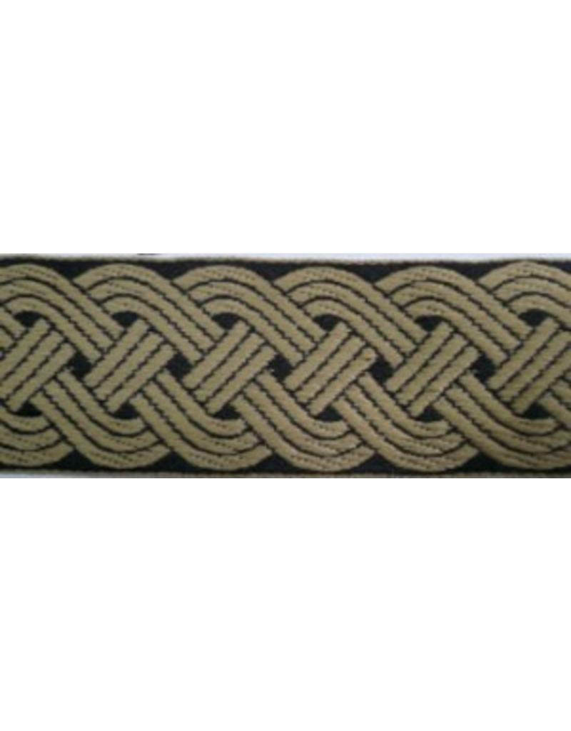 Cloak and Dagger Creations 12 Strand Celtic Braid Trim - Wide