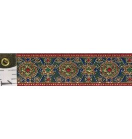 Byzantine Circles Trim with Gold Thread - Narrow