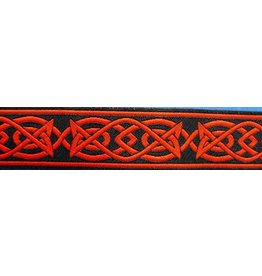 Cloak and Dagger Creations Celtic Fish Trim, Red/Black (Discontinued)