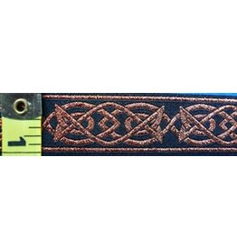 Cloak and Dagger Creations Celtic Fish Trim, CopperBlack (Discontinued)